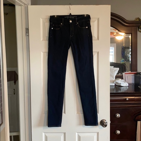 American Eagle stretchy jeans Size 4 X-Long